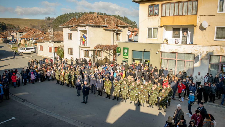 Festivitate dedicată aniversării a 100 de ani de la Marea Unire, Alba Iulia 1918